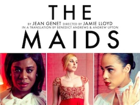 jean genet the maids analysis the maids tickets discount code londoncalling