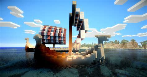minecraft viking boat viking boat pack minecraft project