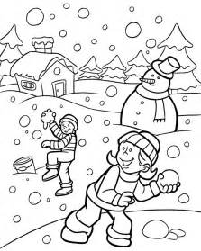 winter coloring page winter coloring pages 9 coloring