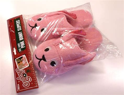 story bunny slippers neca a story pink bunny slippers