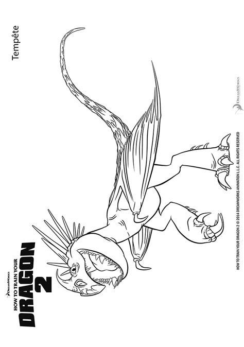 Coloriage Astrid Et Les Dragons