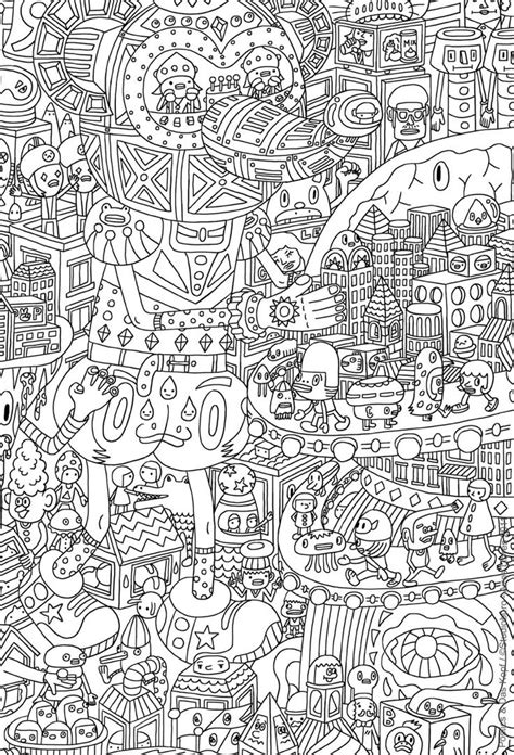 Free Coloring Page For Adults 9 Doodle Art Gianfreda Net Doodle Coloring Pages To Print