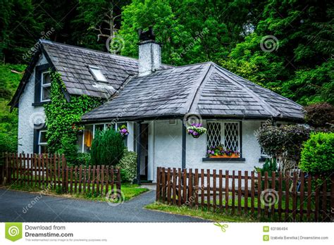Celtic Cottage by Cottage Stock Photo Image Of Fence Architecture