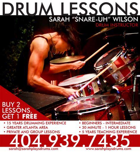 drum tutorial lesson one drum lesson flyer images