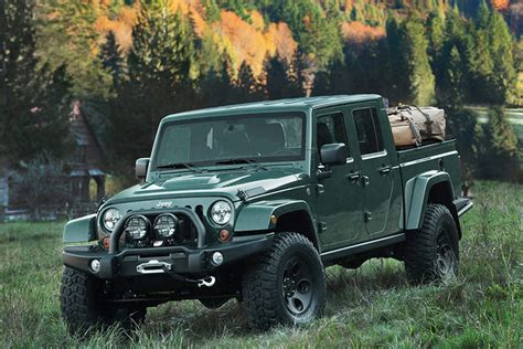 jeep pickup brute limited edition filson jeep dresses up the brute
