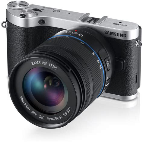 Kamera Samsung Mirrorless Nx samsung nx300 mirrorless digital ev nx300zbstus b h