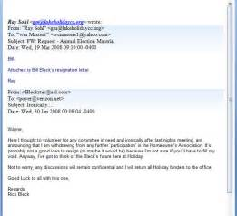 Resignation Letter By Email by Resignation Letter Format 10 Exle Letter Of Resignation Email Notice Subject Letter