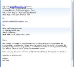 Resignation Letter Email by Resignation Letter Format 10 Exle Letter Of Resignation Email Notice Subject Letter