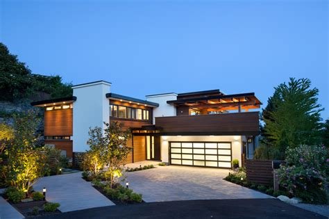 home house design vancouver west coast modern renovation contemporary exterior vancouver by naikoon contracting ltd