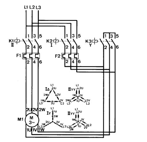 wye start delta run wiring diagram wye wirning