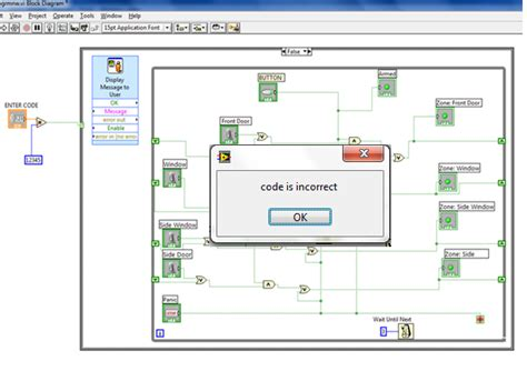 importance of home alarm system based on labview software