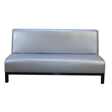 Silver Leather Sofa Jax Sofa Metallic Silver Leather Rentals Furniture Rentals