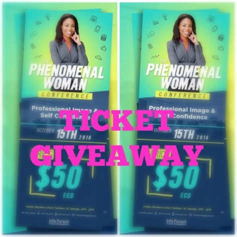 Conference Giveaways 2016 - the phenomenal woman conference giveaway islepreneur