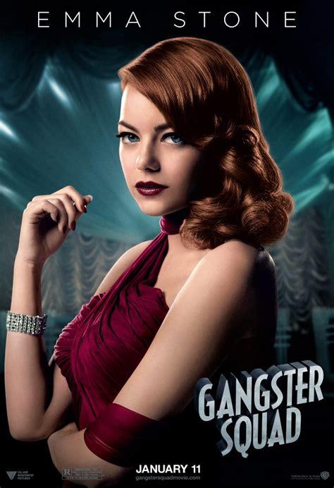 Emma Stone Poster | gangster squad character poster emma stone heyuguys