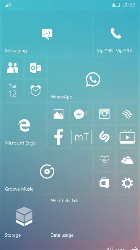start screen  personalizzare windows phone