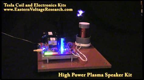 Tesla Coil Sound Loudest Plasma Speaker Class E Audio Modulated Tesla