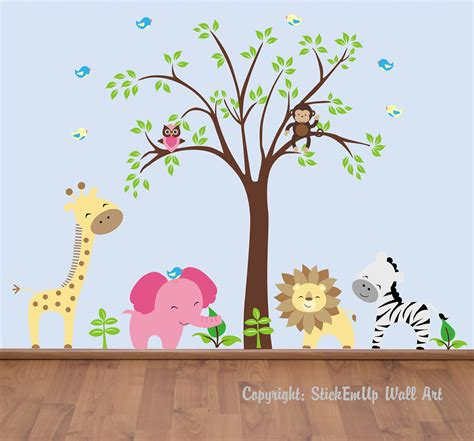 Wall Decal Baby Nursery Baby Wall Decals 131a Nursery Wall Decals By Stickemupwallart