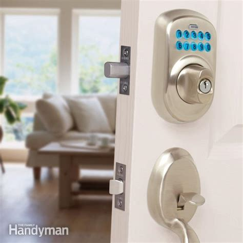 Front Doors Locks Upgrade Front Door Locks With Keyless Door Locks The Family Handyman