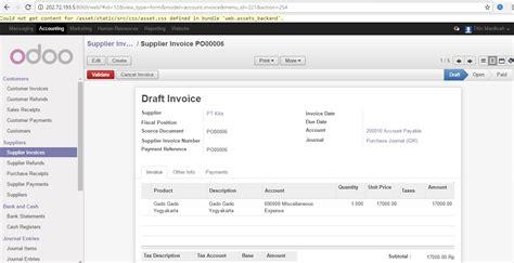 panduan membuat invoice tugas erp universitas pancasila jurusan teknik indusrti