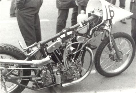 Classic Motorrad Dragster by S W Fotos Drag Racing Holland 1968 Galerie Www