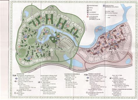 amusement authority: port orleans riverside map and review