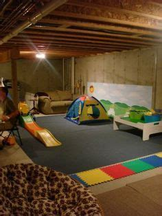 how to turn an unfinished basement into a bedroom 1000 ideas about unfinished basement playroom on pinterest
