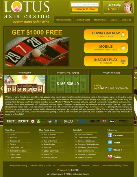 lotus asia casino review ratings askgamblers