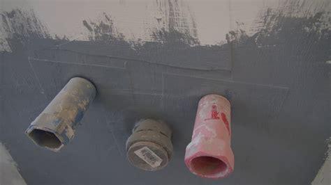 Trockenbau Dusche Abdichten by Wandscheiben In Dusche Hinter Trockenbau Installieren