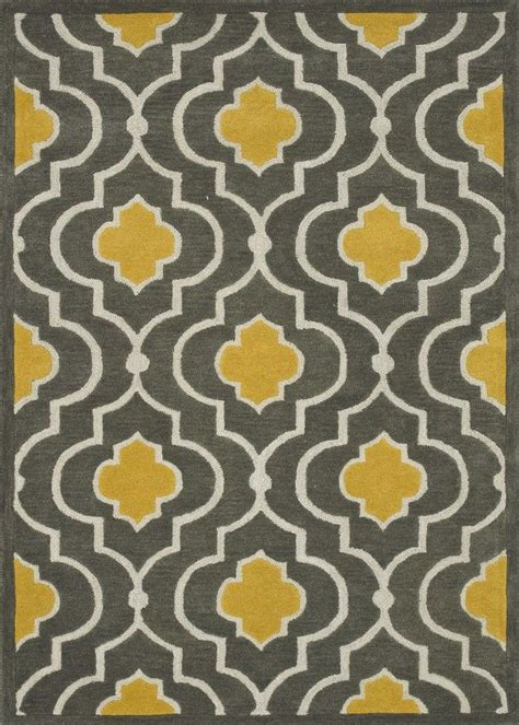 yellow grey yellow and gray rug rugs ideas