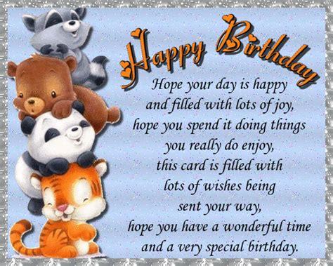 cute animal birthday wishes  happy birthday ecards greeting cards