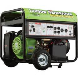 all power propane generator with electric start 10 000