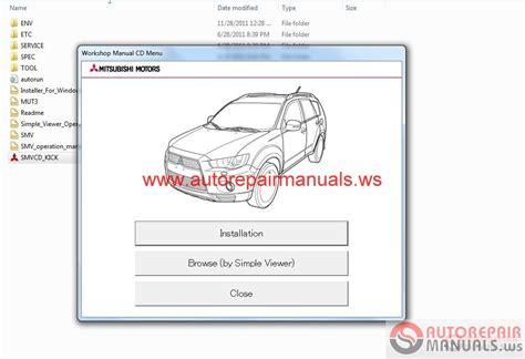 service manuals schematics 2012 mitsubishi outlander sport windshield wipe control mitsubishi outlander 2012 workshop manual auto repair manual forum heavy equipment forums