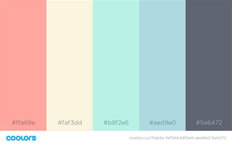 pretty color schemes 25 beautiful colour palettes to use in your next design