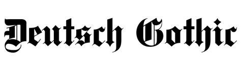 deutsch gothic font download free preview font deutsch gothic deutsch gothic font