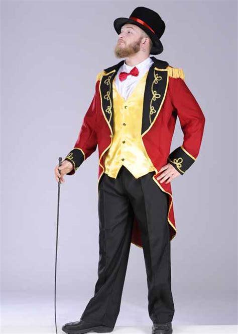 mens ringmaster costume adult mens circus ringmaster costume