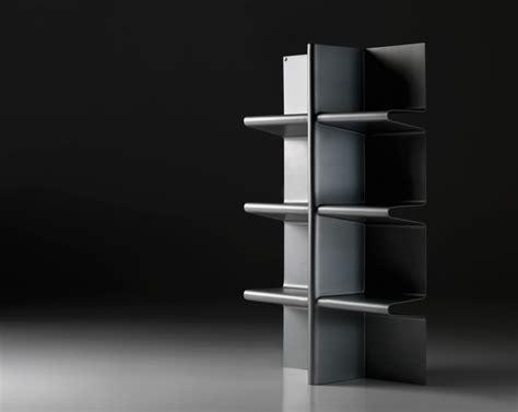 cioccolata by altreforme minimalist aluminum bookcase