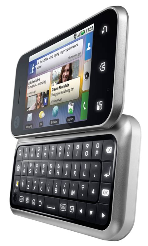 motorola android phones a prettyboy s motorola backflip android phone