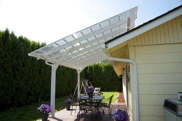 pergola with clear roof outdoor living pinterest