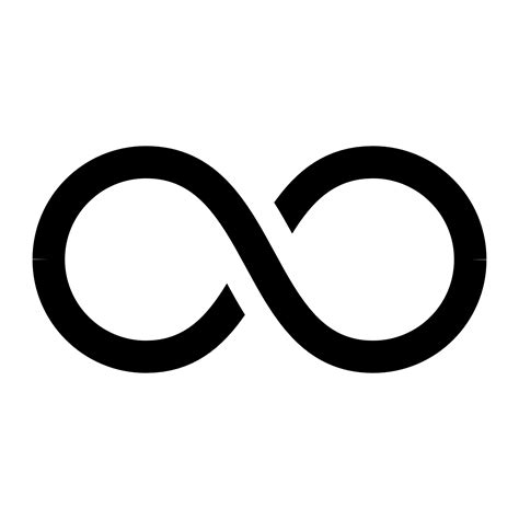 infinity sign infinity symbol png images free