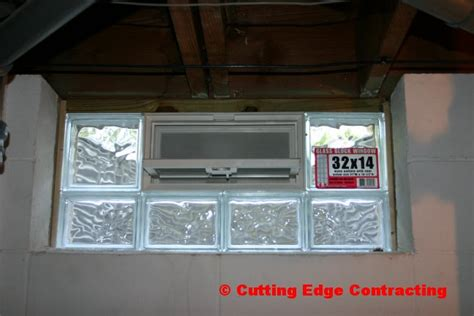 installing basement glass block windows fashionable design ideas basement glass block window installation windows basements ideas