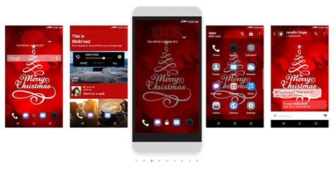 christmas themes htc epic htc themes to get you in the christmas spirit htc