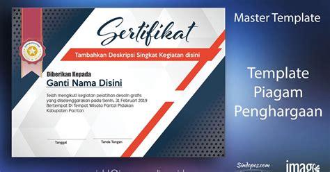 desain huruf cdr download template template sertifikat pelatihan keren