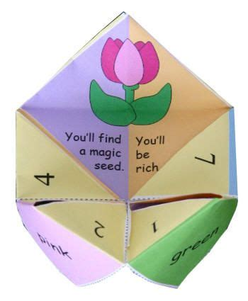 Origami Fortune Teller Fortunes - 25 best ideas about origami fortune teller on
