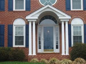 portico on colonial house fabulous new entry for this colonial a porch portico with