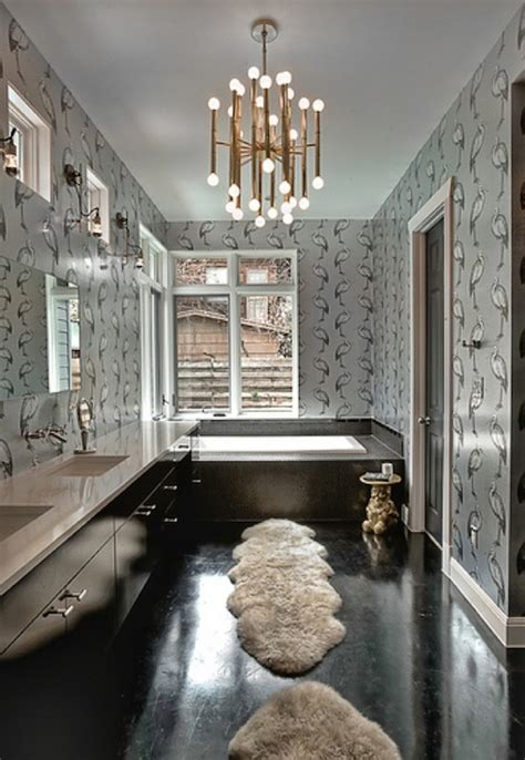 black wood floors contemporary bathroom glynis wood