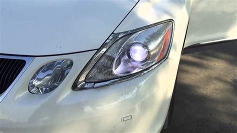 lexus gs  headlight washer slow motion youtube