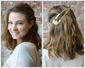 different ways to style chin length hair 3 ways to wear an oversize barrette birchbox