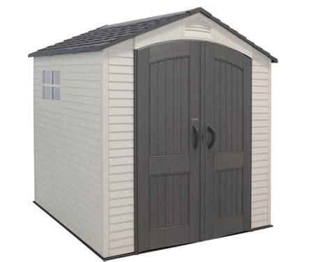 Storage Shed On Sale by Lifetime 7x7 Storage Shed W Two Windows
