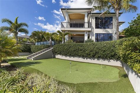 golfer senior lists waterfront gold coast home
