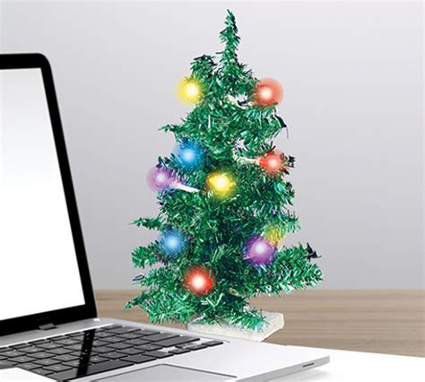 usb mini christmas tree cool stuff dude